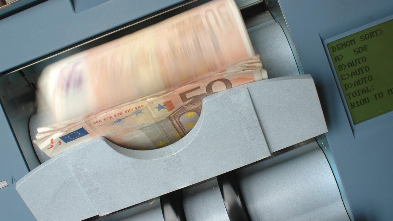 Geld-Abhol-